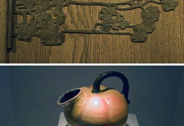 Trä, smide, keramik och textil