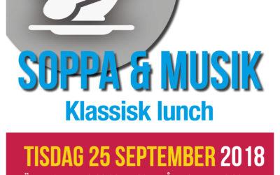 Soppa & Musik 25 september